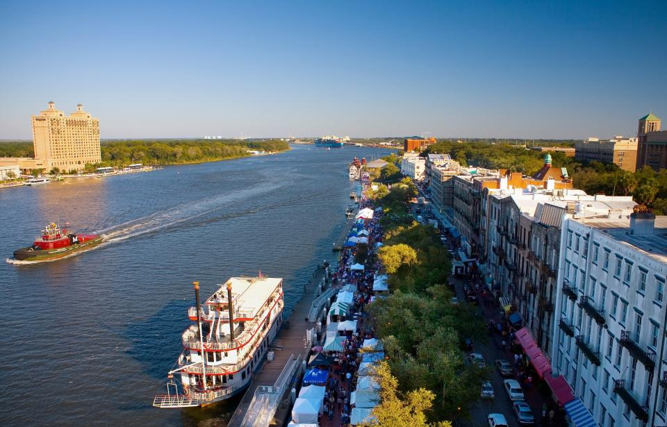 The Ultimate Guide To Exploring Savannah S River Street