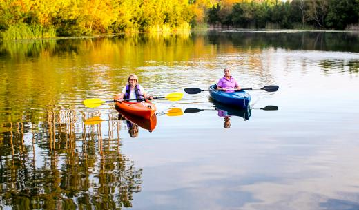 waterways kayak couple