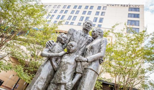 African-American Families Monument