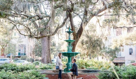 A proposal in Savannah's Lafayette Square
