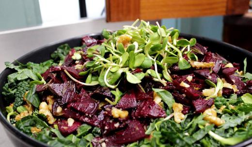 Beet Salad at Brighter Day