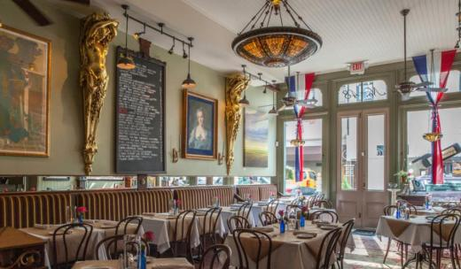 Circa 1875 is a charming French-style bistro.
