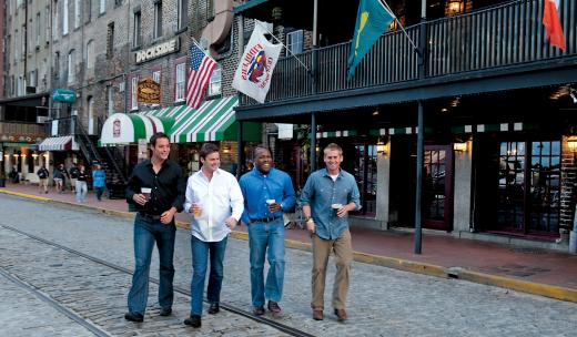 Bachelor Party Savannah River Street Men
