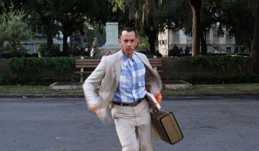 Forrest Gump in Savannah