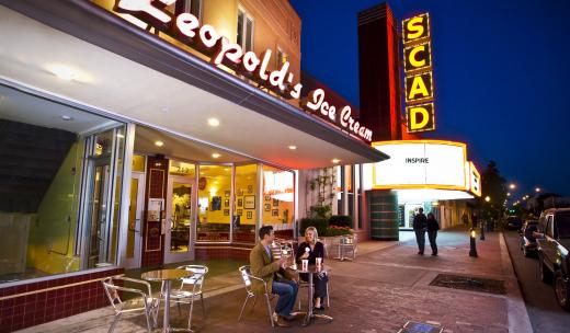 Leopold's Ice Cream.