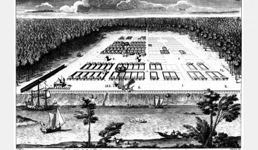 James Oglethorpe's Plans for the City of Savannah