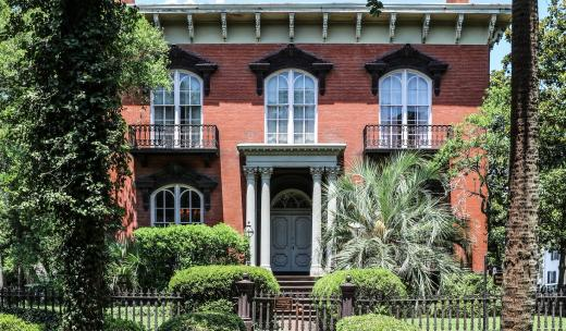 Mercer House in Savannah