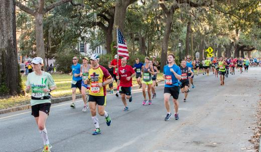 Savannah Rock n' Roll Marathon