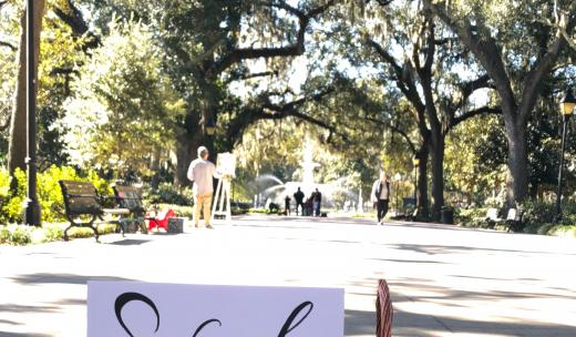 Valentine's Day in Savannah
