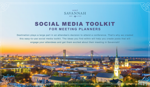Visit Savannah Social Media Toolkit