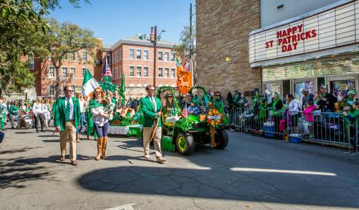St. Patrick's Day in Chippewa Square