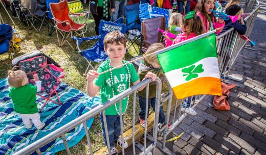 Irish pride at Savannah's St. Patrick's Day Parade
